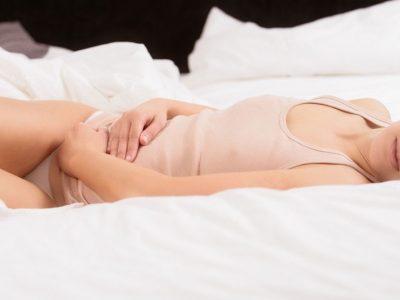 Mens fastän gravid