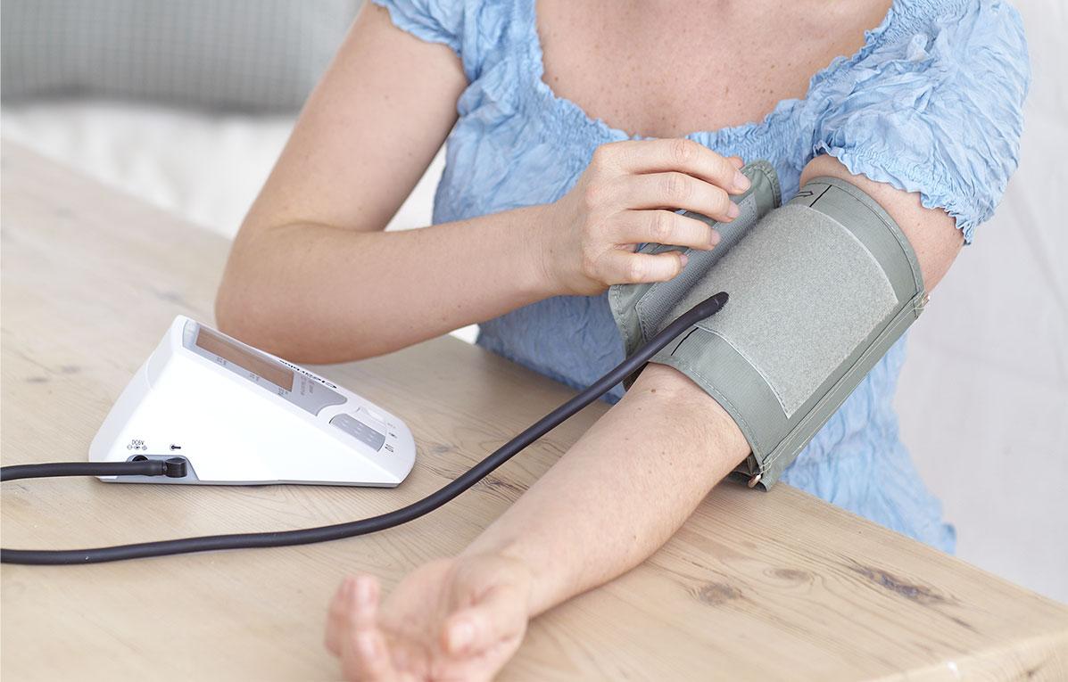 högt blodtryck slutet av graviditet