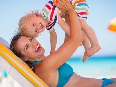 Solskydd till barn och bebis