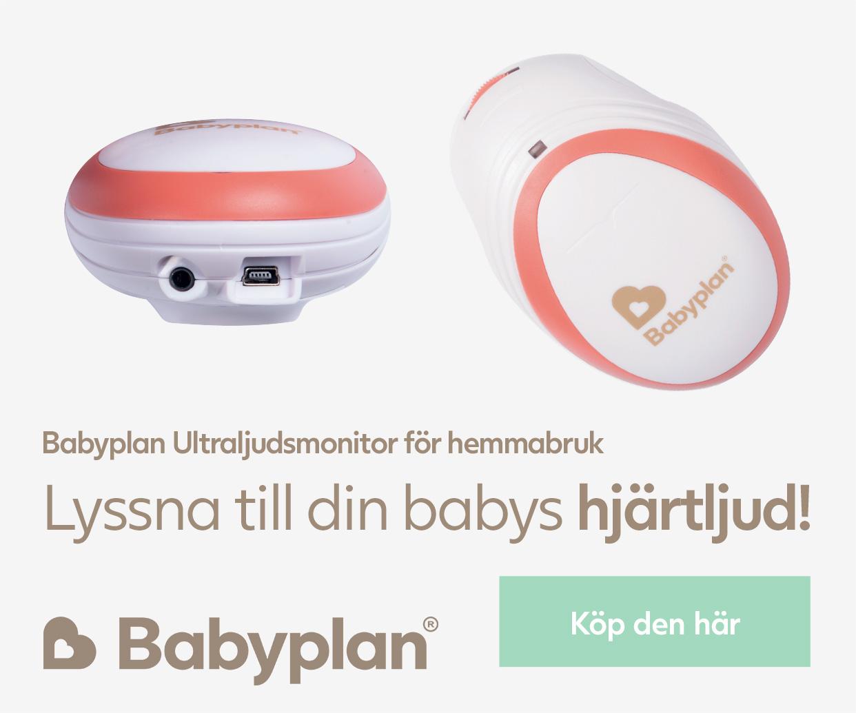 Babyplan Ultraljudsmonitor för hemmabruk